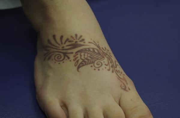 hennafoot